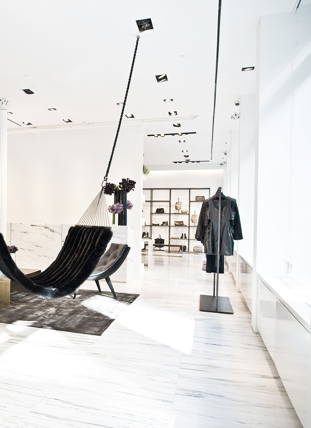 Case Study  Alexander Wang  Hammock Photo Right