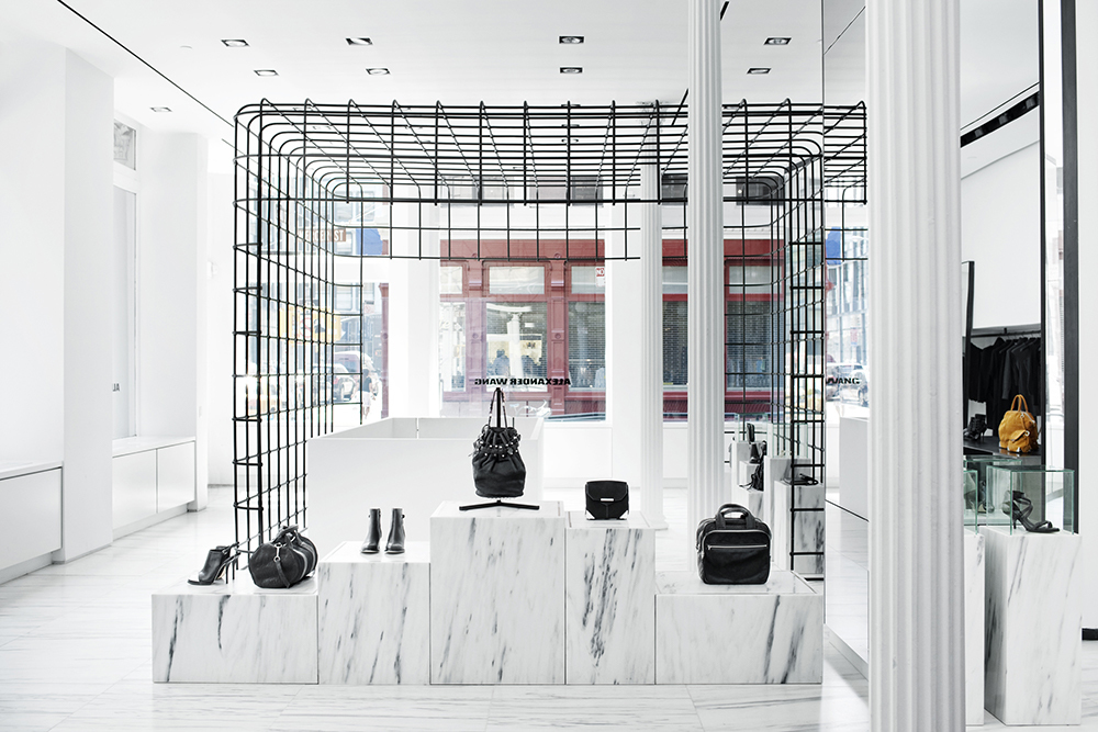 Case Study  Alexander Wang  Retail Cage Full