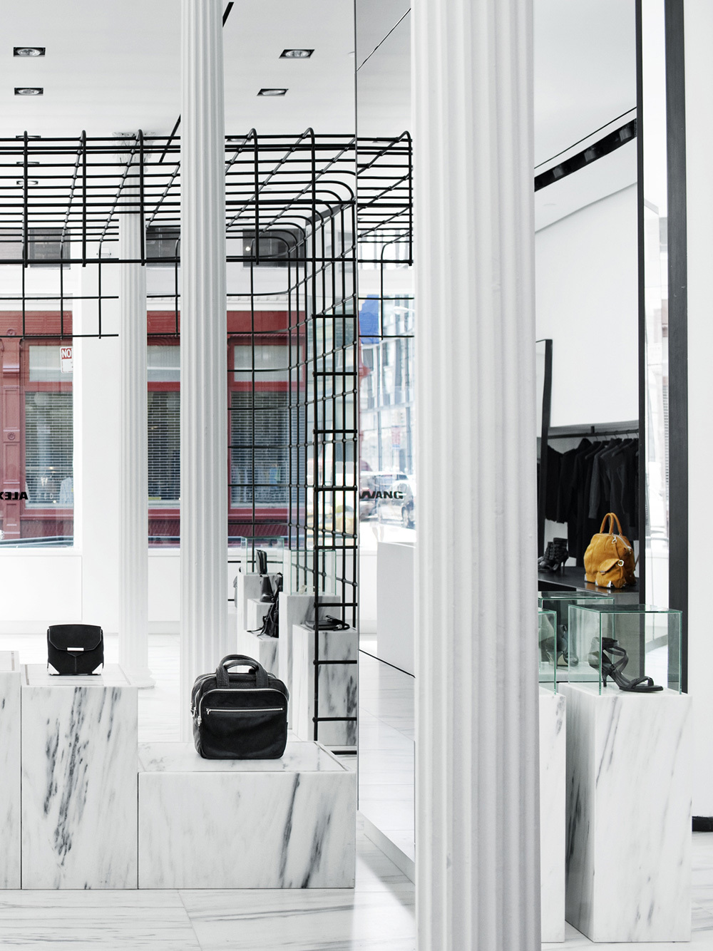 Case Study  Alexander Wang  Retail Cage Right
