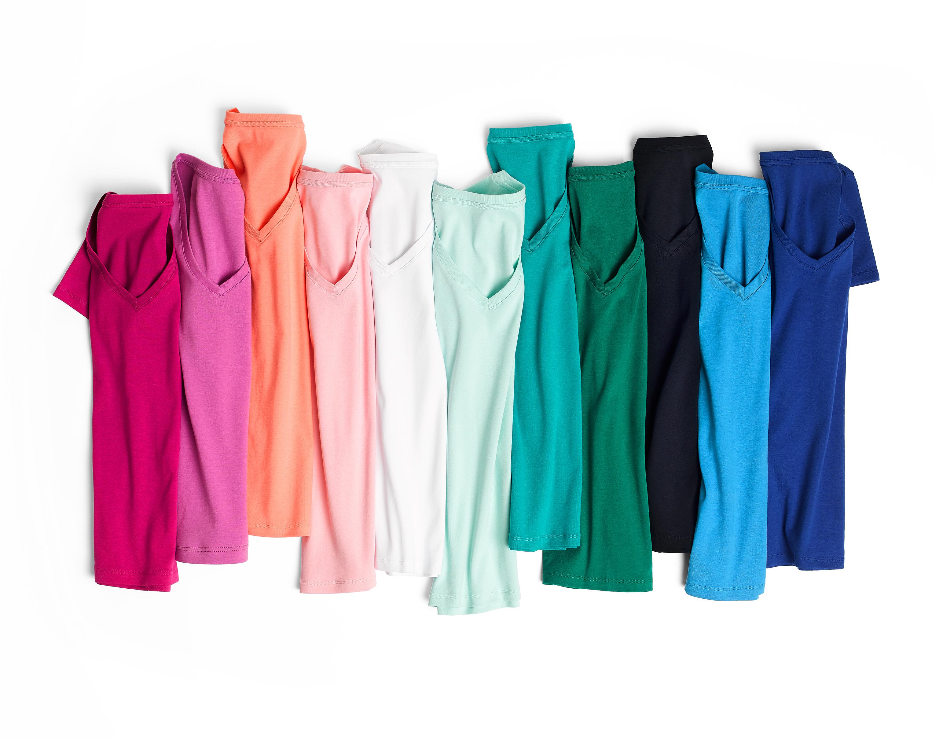 Case Study  Joe Fresh  Folded Colorful Shirts