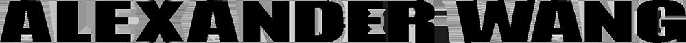 Client  Logo  Alexander Wang Black